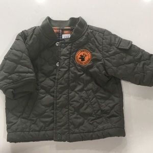 Baby Gap Infant boy quilted Jacket Sz 6-12 months